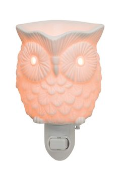 NEW #Scentsy Whoot Plug-in Warmer!  I have the full size of this guy and I love him!  www.candlelove.scentsy.ca