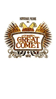 Oh my friends, my friends — Natasha, Pierre & The Great Comet of 1812...