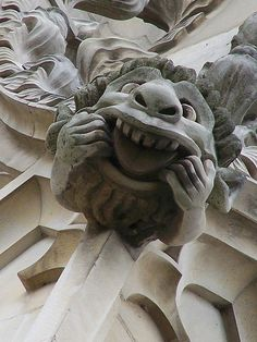 Canterbury Cathedral: Cheeky Gargoyle | Flickr - Photo Sharing!