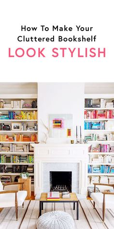 Style goes far beyond the perfect wardrobe. And whether you're moving into a new place or your home needs a little refresh, we know how daunting organizing your belongings can be, especially if you have an extensive collection of books lying around. With this in mind, we turned to Pinterest to round up chic, colorful bookshelf inspiration that's surprisingly easy to achieve and free of charge.