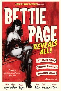 """The story of Bettie Page, the gorgeous and sexy pin-up who has evolved into a cult icon. She was called """"Queen of The Pin-up Girls"""" by Hugh Hefner of Playboy, yet her life was anything but happy at the end. Dita Von Teese, Poster Photo, Photo Print, Bettie Page Reveals All, Russ Mayer, Bettie Page Photos, Irving Klaw, Olivia De Berardinis, Hugh Hefner"""