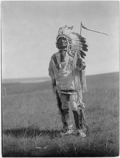 Arikara Chief by Edward Sheriff Curtis