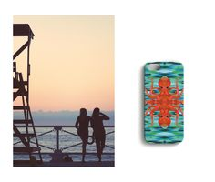 Team of two //Inkbrothers iPhone case designed by Katariina Karjalainen.