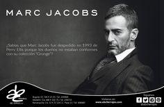 Diseñador nacido en Nueva York en 1963. #ABCherrajes #Style #Designs #Luxury #Colombia #MarcJacobs