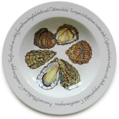 Jersey Pottery - Large Deep Rimmed Bowl - Mussels