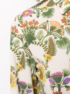 La Doublej Bellini thistle print dress DRE0016DBG001THI0001 - Farfetch