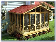 House Design: Creative Screened Porch Plans With Screened Porch Kits And Screened Porch Furniture, house plans with screened porches, removable windows for screened porch Screened In Porch Plans, Screened Porch Designs, Front Porch, Front Windows, Enclosed Porches, Decks And Porches, Small Porches, Screen Porch Kits, Screen House