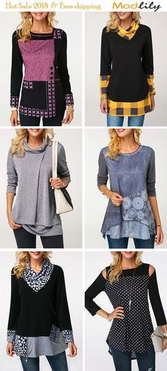 Cute Dresses For Tee - February 07 2019 at Classic Outfits, Stylish Outfits, Kids Outfits, Fall Outfits, Tween Fashion, Fashion Outfits, Trendy Tops For Women, Fashion Corner, Altering Clothes