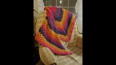 Crocheted Triangular Granny Shawl Tutorial - YouTube Crochet Prayer Shawls, Crochet Shawl, Crochet Crowd, Cowl Scarf, Cowls, Crochet Scarves, Scarfs, Caps Hats, Crocheting