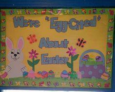 Easter Bulletin Board