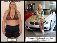 Way to go Delisa!  Like Delisa have a fit life and join the Body By Vi Challenge now! https://ronpruett.myvi.net  Visit my blog ronpruett.com for Weight loss tips