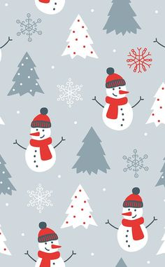Winter And Snowmen Wallpaper Lock Screen Background Christmas And New Year Christmas
