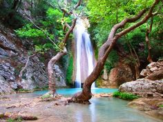 Nedas Waterfall, Greece