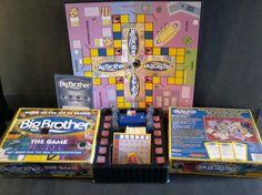 Big Brother TV Show The Game Pressman 2000 Board Game CBS  #Pressman