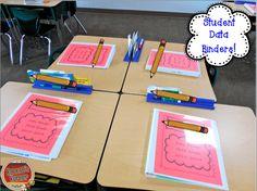 Koonce's Korner: Data Binders and Student-Led Parent Conferences Student Data Folders, Student Data Tracking, Student Self Assessment, Data Binders, Student Data Notebooks, Student Data Collection, Student Led Conferences, 4th Grade Classroom, Classroom Ideas