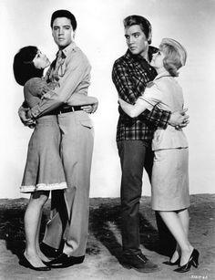 """Photo shoots for """"Kissin Cousins"""" (MGM) – also part of the shoot were Yvonne Craig, Pam Austin, Arthur O'Connell, Glenda Farrell and other co-stars. Weirdly enough, during t…"""