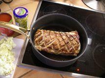 Porsaan ulkofilee on edullista hyvää lihaa, kunhan sitä ei käsittele kuivaksi ja harmaaksi ylikypsentämällä ja väärällä valmistustavalla..