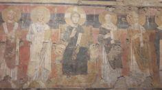 Santa Maria Antiqua.  Parete Est. 750 d.c.