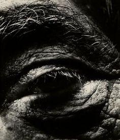 Bill Brandt: Alberto Giacomettis Eye, 1963