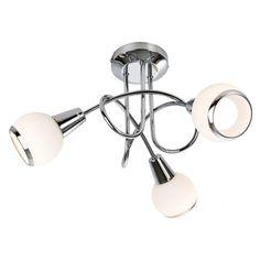 Deckenleuchte 3-flammig Loris Jetzt bestellen unter: https://moebel.ladendirekt.de/lampen/deckenleuchten/deckenlampen/?uid=851ee44f-a4bb-5364-b717-994d862baf21&utm_source=pinterest&utm_medium=pin&utm_campaign=boards #deckenleuchten #lampen #deckenlampen