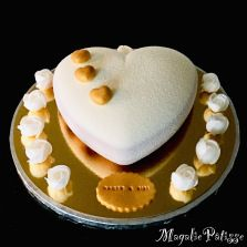 Heart Cookies, French Pastries, Nutella, Sweet Recipes, Caramel, Wedding Cakes, Cupcake, Cooking, Valentine Heart
