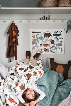 Applikoidut tossut - Tummanruskea/Karhu - Home All Single Duvet Cover, Duvet Cover Sets, Orange Gris, Hm Home, Lit Simple, Indie Room, Cotton Duvet, Boy Room, Luxury Bedding