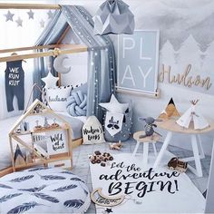 いいね!20件、コメント2件 ― K I D S  R O O M  D E C O Rさん(@miss_angel_ilaria)のInstagramアカウント: 「✨A M A Z I N G ✨Such a magical room for little Hudson created by his talented mummy…」