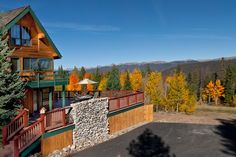 Large, Private, Home located on Peak 7 in Breckenridge. Natural grounds on ten…
