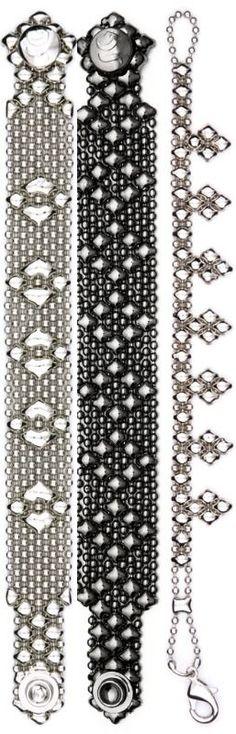 Liquid Metal Bracelet Set, www.joangoehler.com
