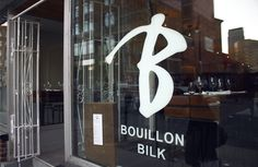 Bouillon Bilk - chic and nice French food