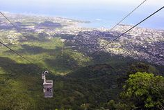 Puerto Plata - Dominican Republic cable car