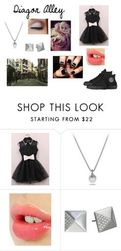 """Diagon Alley #2"" by alextheapple ❤ liked on Polyvore featuring David Yurman, Charlotte Tilbury, Michael Kors and Converse"