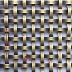 Antique Brass Plated Flat Wire Mesh Panel, Made in China, Save you more than 50%!!!