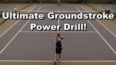 Learn my favorite drill for getting more power on the forehand and backhand groundstroke! Tennis Lessons, Tennis Tips, Tennis Serve, Play Tennis, Tennis Clubs, Tennis Players, Health And Physical Education, Tennis Workout, Tennis Elbow