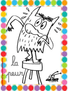 La Couleur Des Emotions Coloriage - From the thousands of images online with regards to La Couleur Des Emotions Coloria Les Sentiments, Education, Feelings, Arc, Albums, French Immersion, Halloween, Slime, Monsters