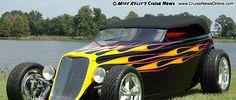 33 Coupe Paint Flames | Jeff & Sandy Teague's 1933 Ford Phaeton