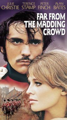 Far From The Madding Crowd starring Terrece Stamp, Julie Christie, Alan Bates and Peter Finch.  I absolutely love this film!!!!!