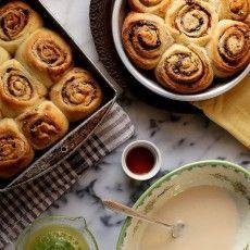 Bonkers Awesome Pistachio, Orange, and Dark Chocolate Cinnamon Rolls | Joy the Baker
