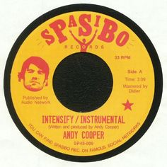 Andy Cooper - Intensify (Spasibo) #music #vinyl #musiconvinyl #soundshelter #recordstore #vinylrecords #dj #HipHop
