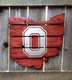 Hey, I found this really awesome Etsy listing at https://www.etsy.com/listing/185714207/recycled-pallet-ohio-state-buckeyes