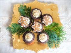 Christmas Cookie Club: 1. Türchen - Lebkuchen Cupcakes von Ofenkieker - mit Video