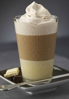 This Chocolate Coffee recipe is truly fantastic. The smooth and creamy balance of the sweet white chocolate with the dark chocolate flavors in this chilled beverage is great for sipping on after dinner as a dessert treat.