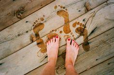 summer footprints