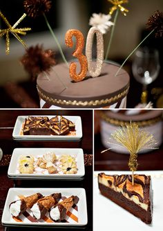 "Adult Elegant Birthday Party...although I wouldn't consider my husband ""elegant"", there are some good ideas here! Lol!"