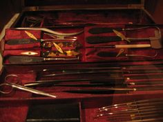 Antique Surgical Instruments by Creative Suggestions, via Flickr