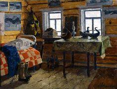 Владимир Стожаров  Село Муфтюга Наша комната 1966