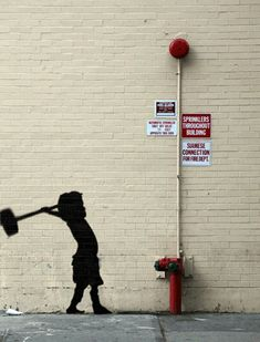 gah! LOVE The Best Of Banksy Animated Into Incredible GIFs