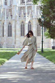 naatasaa: Green City #naatasaa #fashionblogger Shirt Dress, City, Green, Fashion, Moda, Shirtdress, Fashion Styles, Cities, Fashion Illustrations