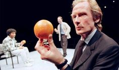 "Bill Nighy in ""Blue/Orange"" by Joe Penhall, National Theatre, Cottesloe, London, April 2000"