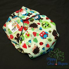 Garden Gnome One Size Pocket Diaper by HippyChicDiapers on Etsy Available now